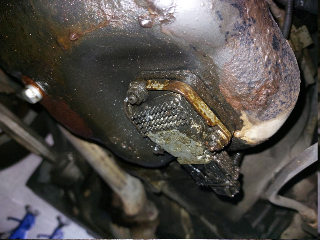 [ BMW E46 316i N46 an 2005 ] Fuite joint carter d'huile ? 20210717