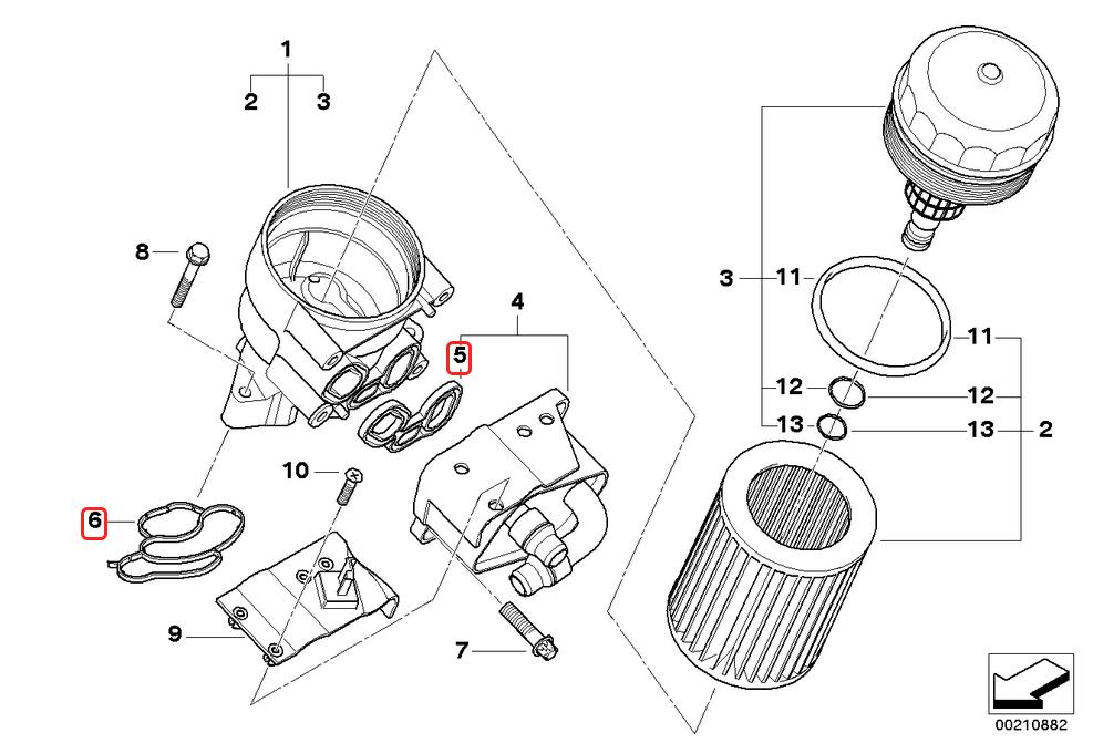 [ BMW E46 316i N46 an 2005 ] Fuite d'huile et pièce qui bouge Joint_10