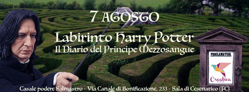 Labirinto Harry Potter - Il Diario del Principe Mezzosangue Copert10