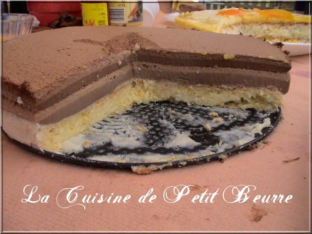 chocolat - Entremet aux 3 chocolats et son miroir de chocolat noir - Page 3 3_choc10