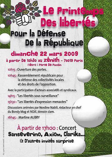 dimanche 22 mars 2009 - Zénith de Paris Titine10