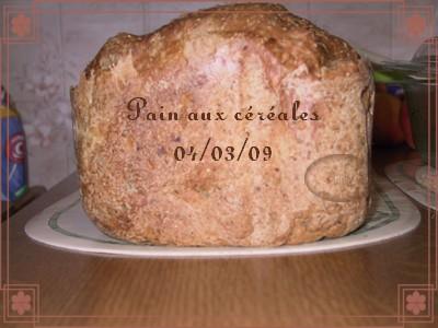 Pain aux céréales d'Annie (+ photos) 2009_016