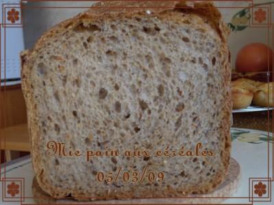 Pain aux céréales d'Annie (+ photos) 2009_017