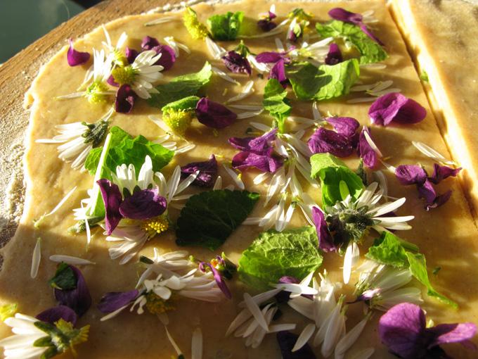 gâteaux apéritifs aux pousses de printemps Recett12
