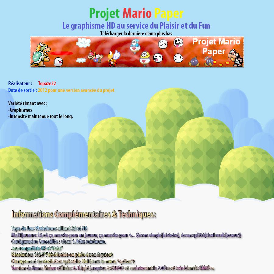 Projet Mario [2nd topique] démo4V1 DISPONIBLE !!! Projet11