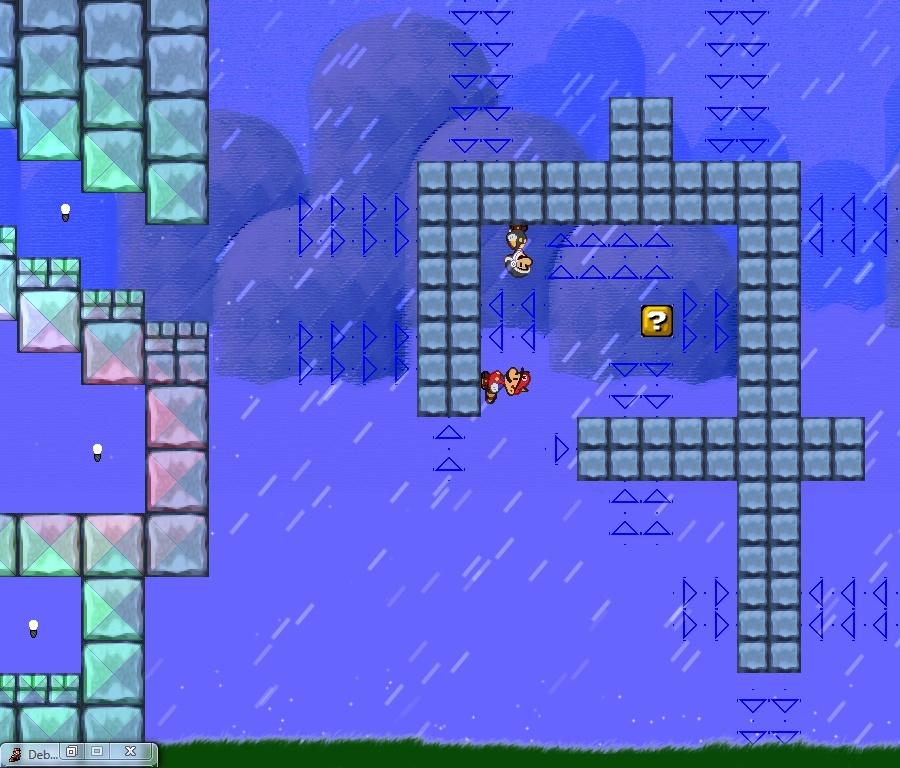 Projet Mario [3nd topique]. ABANDON. J'en commence un nouveau ? XD Screen13