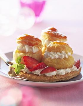 Saint honoré aux fraises Recett11