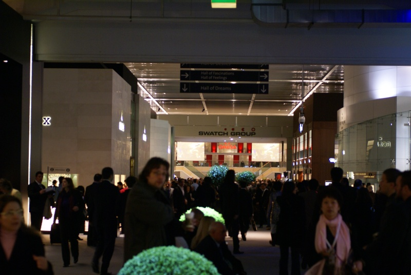 Mon reportage photos de Baselworld 2009 Dsc07710