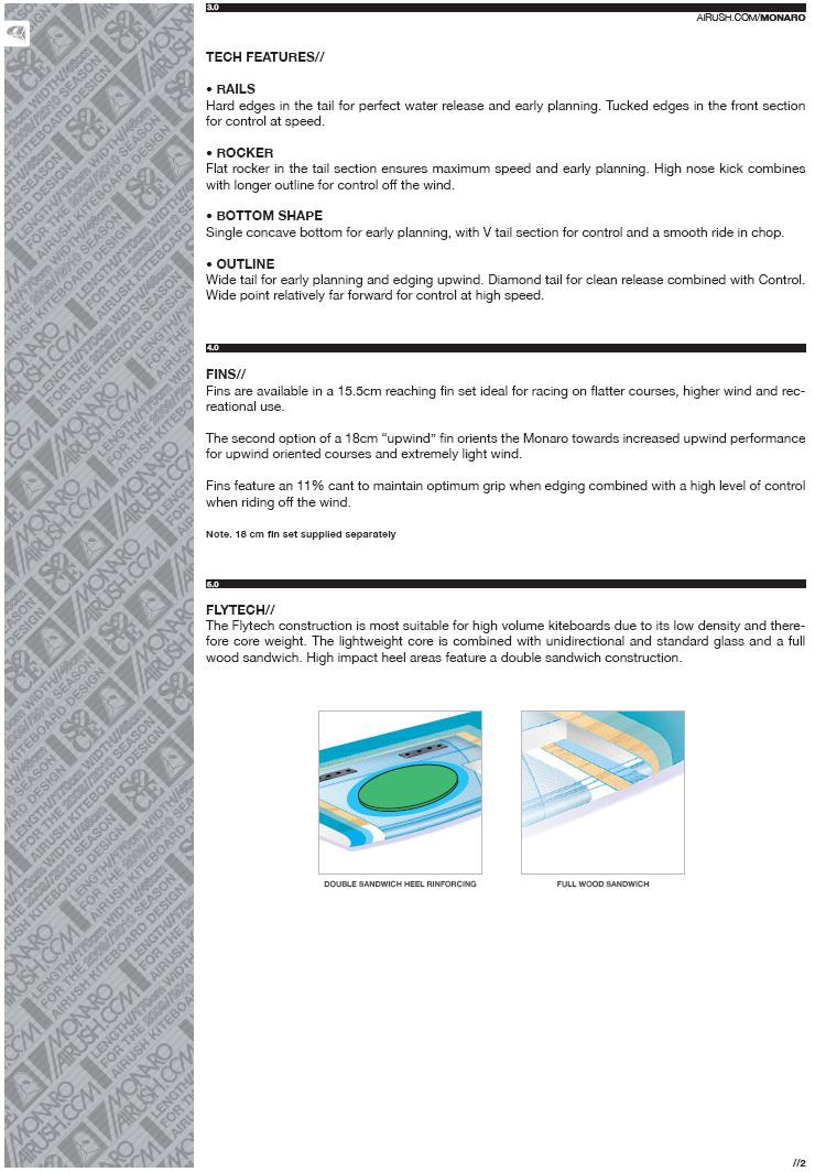 apercu et technologie des boards Airush Monaro11