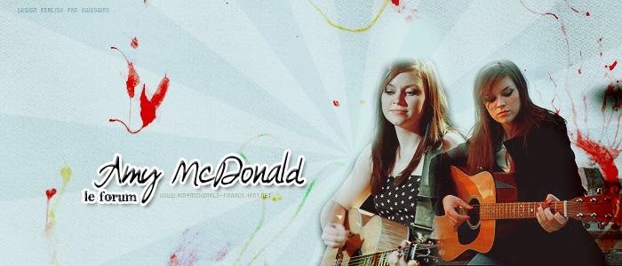 Amy McDonald France