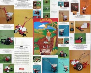 Motoculteurs/motobineuses BRIBAN