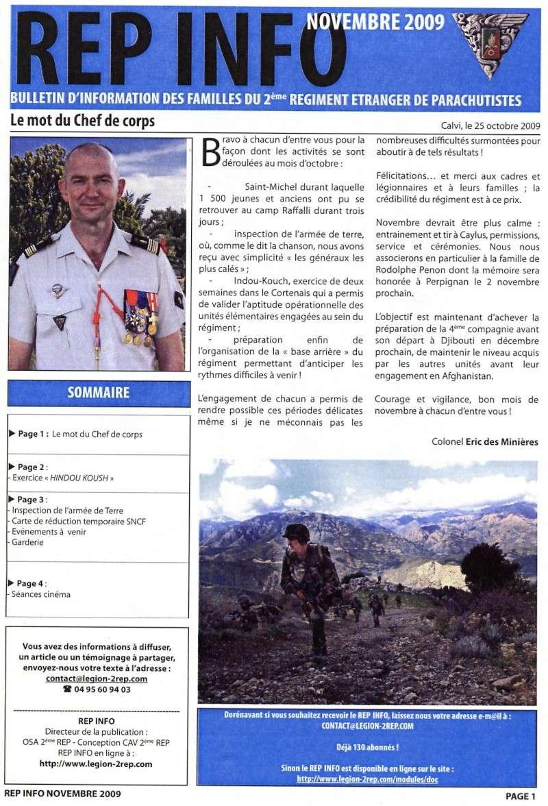 REP INFO  NOVEMBRE 2009  2 REP LEGION ETRANGERE File0427