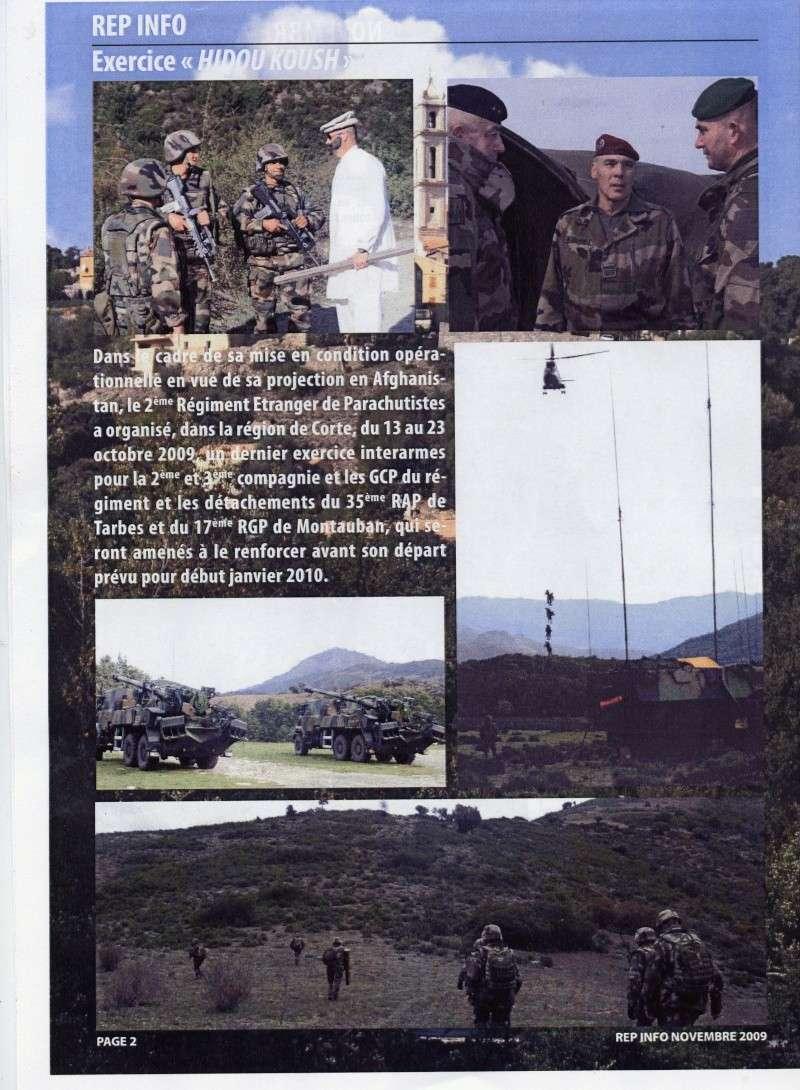 REP INFO  NOVEMBRE 2009  2 REP LEGION ETRANGERE File0429