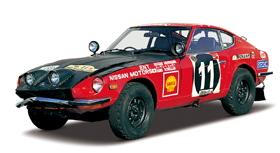 DATSUN 240Z WINNER EAST AFRICAN SAFARI RALLY 1971 IXO : 1/43 06010