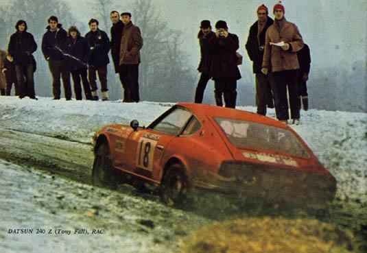 DATSUN 240Z MONTE CARLO 1972 R.AALTONEN / J.TODT 240zto10