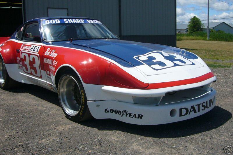 BOB SHARP RACING DATSUN, Paul Newman..Combinaison gagnante Bfe3_310