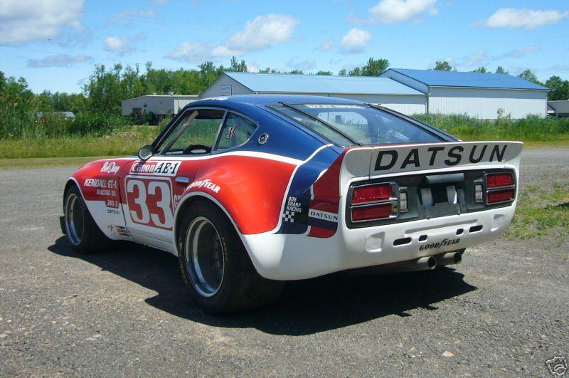 BOB SHARP RACING DATSUN, Paul Newman..Combinaison gagnante C931_310