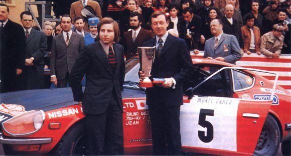 DATSUN 240Z MONTE CARLO 1972 R.AALTONEN / J.TODT Cva10