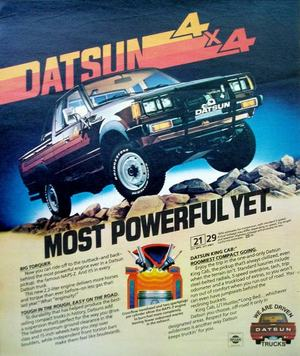 Topic officiel DATSUN pick up 720 KING CAB 2WD & 4WD Dsp_p110