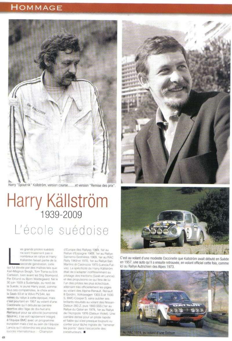 HOMMAGE HARRY KÄLLSTRÖM pilote de rallies Harry_11