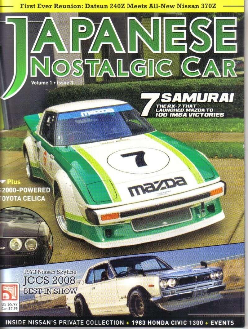 MAGAZINE !!! Japanese Nostalgic Car