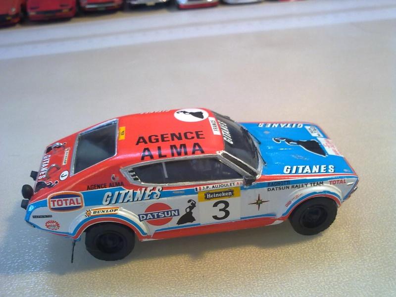 Mini racing DATSUN 160SSS GR 2 (710) RAGNOTTI Mes_i129