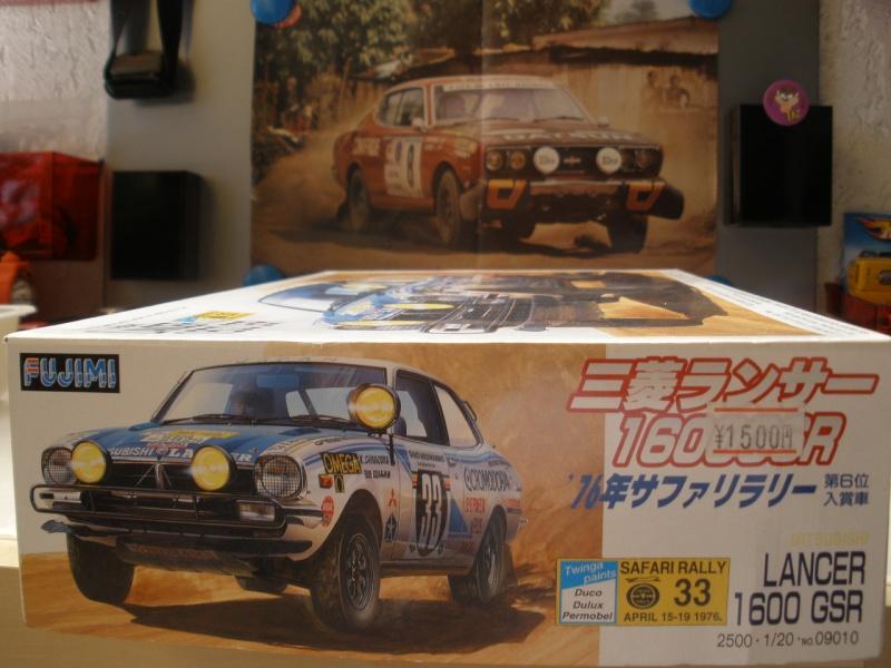 MITSUBISHI LANCER 1600 GSR  SAFARI RALLY 1976 1/20eme Mes_i376