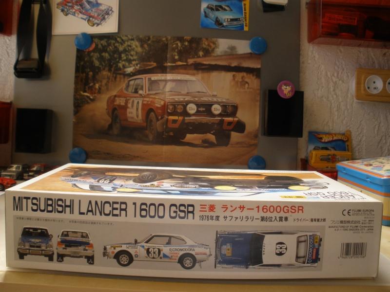 MITSUBISHI LANCER 1600 GSR  SAFARI RALLY 1976 1/20eme Mes_i377
