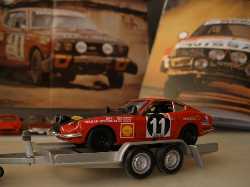 DATSUN 240Z WINNER EAST AFRICAN SAFARI RALLY 1971 IXO : 1/43 Mes_i464