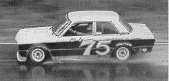 BOB SHARP RACING DATSUN, Paul Newman..Combinaison gagnante Newman10