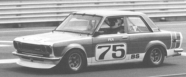 BOB SHARP RACING DATSUN, Paul Newman..Combinaison gagnante Newman11