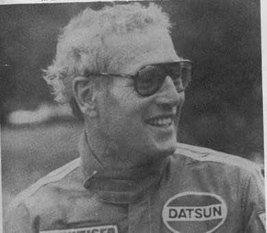 BOB SHARP RACING DATSUN, Paul Newman..Combinaison gagnante Pln10