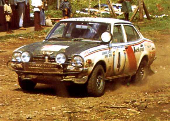 MITSUBISHI LANCER 1600 GSR  SAFARI RALLY 1976 1/20eme Saf1110