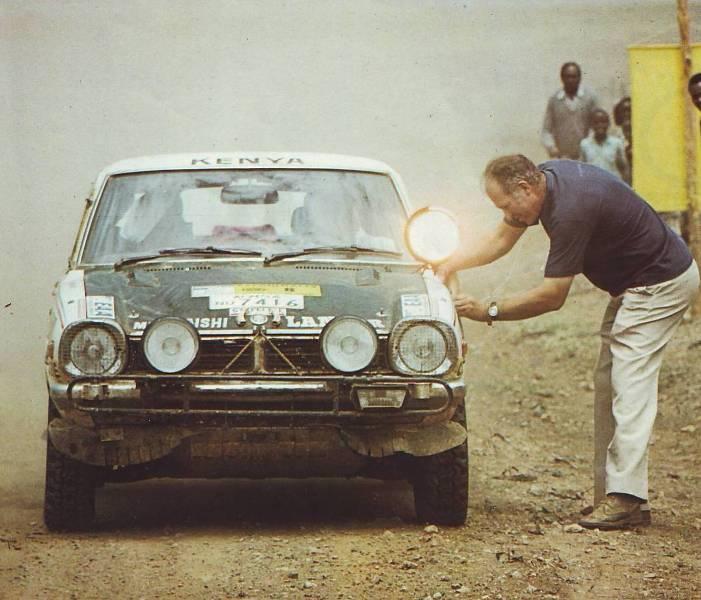 MITSUBISHI LANCER 1600 GSR  SAFARI RALLY 1976 1/20eme Safari10