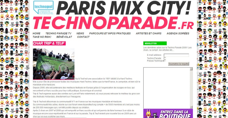 [ TECHNOPARADE 2009 - Samedi 19 Septembre - Char Trip & Teuf] - Page 4 Sitewe11