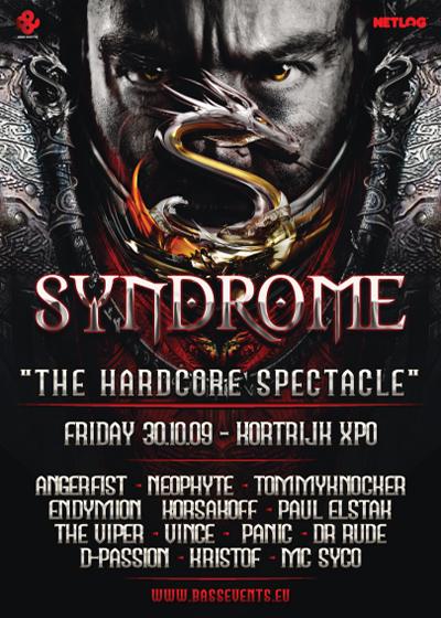 [ SYNDROME - Bass Events - Kortrijk Expo - Belgique - Vendredi 30.10.2009 ] Syndro10