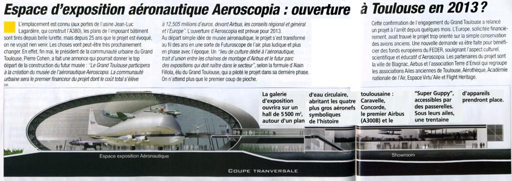 AEROSCOPIA à Toulouse, ouverture en 2013 ? Aerosc10