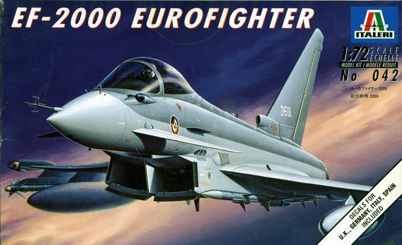 Eurofighter EF-2000 (prototype JP001) - Italeri 1/72ème Box_ar10