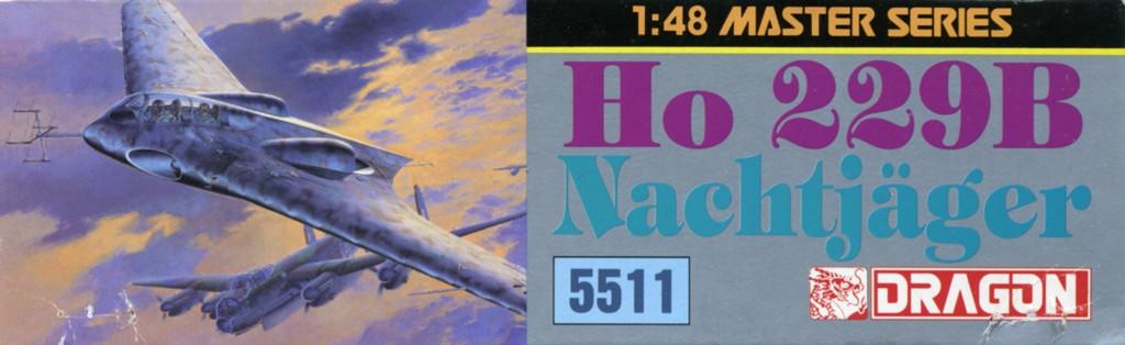 "Horten Ho229 B ""Nachtjager"" (Ho IX)  [1:48 - DRAGON] Box_dr10"