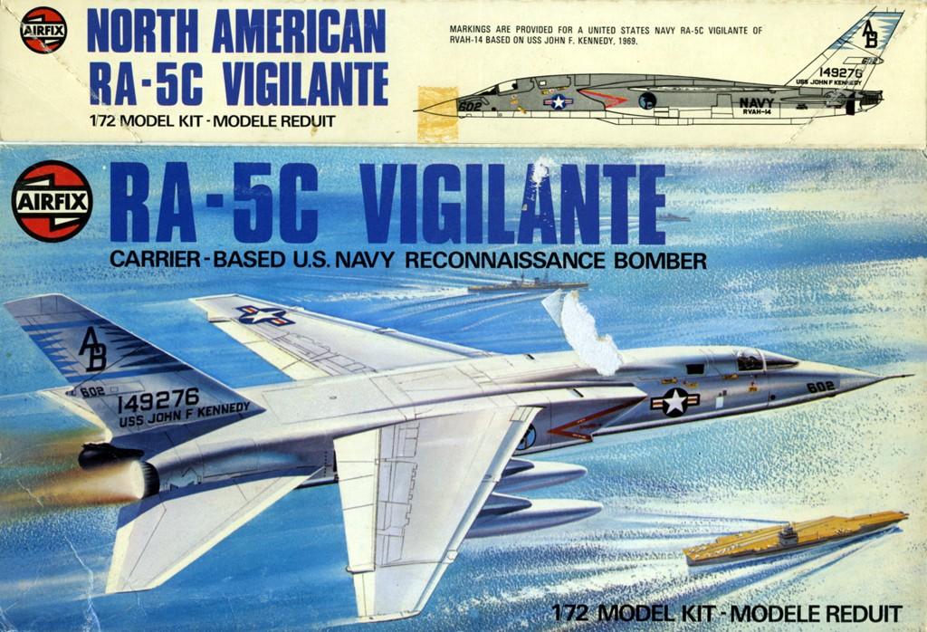 North American RA-5C 'Vigilante' - RVAH-14 1969 [1:72 - AIRFIX] Boxart15