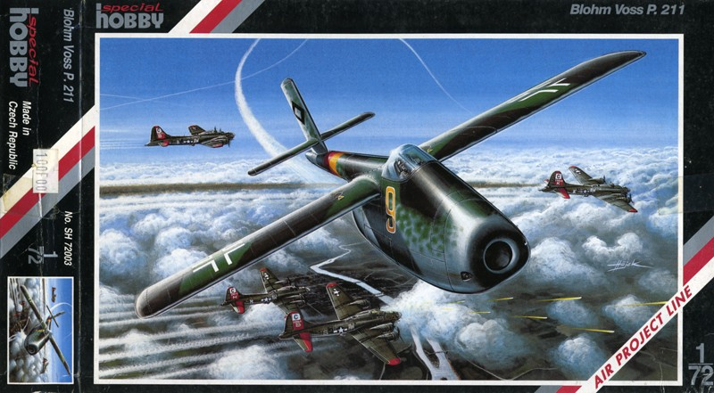 Blohm & Voss BV P.211.02 & P.212.03 [1:72 - Special Hobby,encore ! ] Bv_p_210