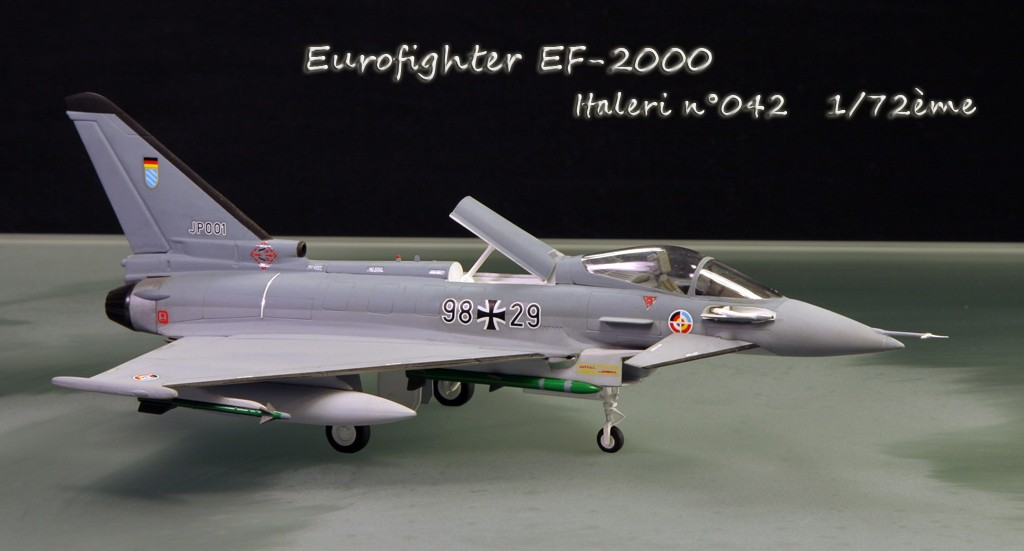 Eurofighter EF-2000 (prototype JP001) - Italeri 1/72ème Eurofi14