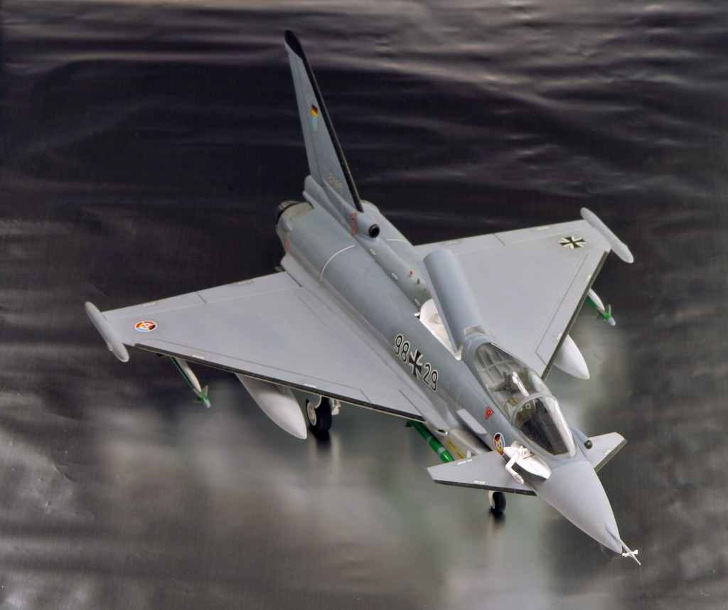 Eurofighter EF-2000 (prototype JP001) - Italeri 1/72ème Eurofi18