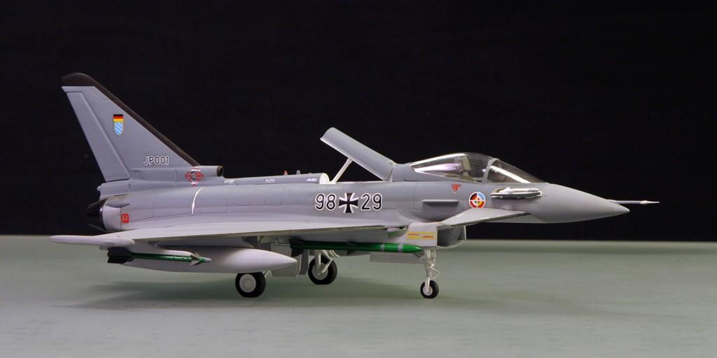 Eurofighter EF-2000 (prototype JP001) - Italeri 1/72ème Eurofi22