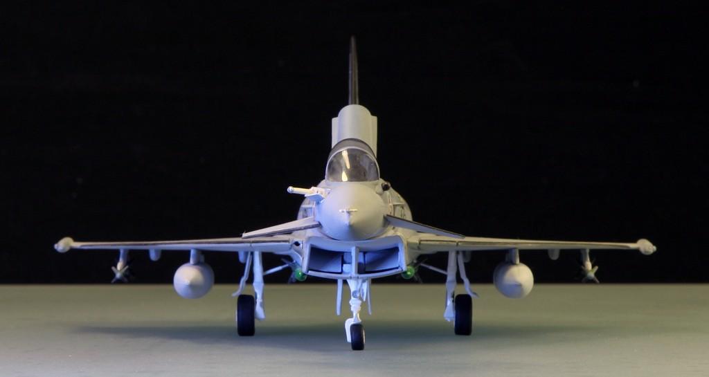 Eurofighter EF-2000 (prototype JP001) - Italeri 1/72ème Eurofi23