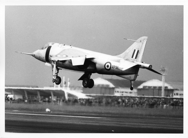 BOURGET fin 50's début 60's Hawker10