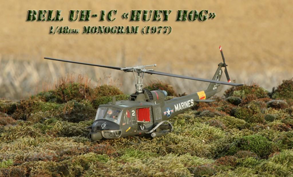 "Bell UH-1C ""Huey Hog"" GUNSHIP [1:48 - Monogram] Img_2812"