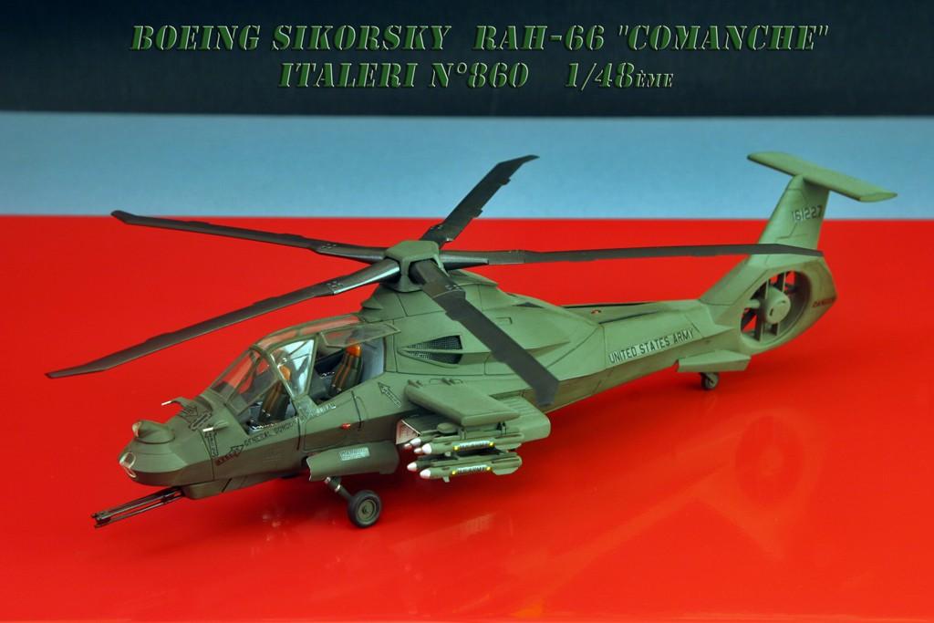 Boeing Sikorsky RAH-66 Comanche [1:48 - Italeri] Rah-6610