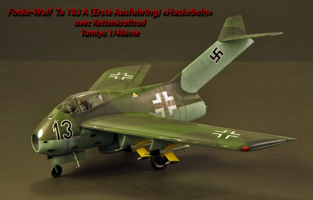 """Focke-Wulf Ta183A """"HUCKEBEIN"""" [1:48 - Tamiya] Ta_18311"""