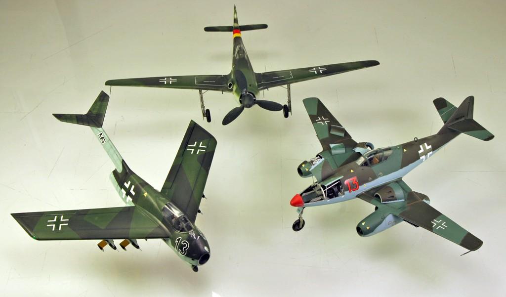 """Focke-Wulf Ta183A """"HUCKEBEIN"""" [1:48 - Tamiya] Ta_18321"""